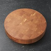 "Crate & Barrel John Boos 18""x3"" End Grain Cherry Cutting Board"