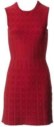 Alaã ̄A AlaAa Red Viscose Dresses