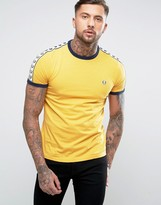 Fred Perry Sports Authentic T-shirt In Gold