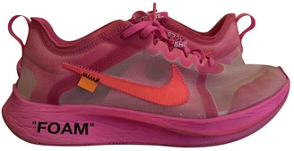 Nike x Off-White Zoom Fly Pink Plastic Trainers