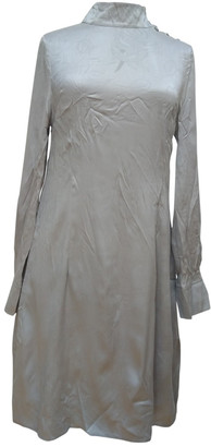 Charlotte Sparre Grey Silk Dress for Women