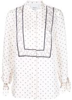 3.1 Phillip Lim printed tie sleeve blouse - women - Silk - 0