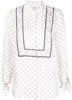 3.1 Phillip Lim printed tie sleeve blouse