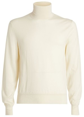 Tom Ford Cashmere-Silk Rollneck Sweater
