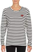 Vero Moda Striped Patch Accented Top