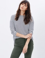 Melanie Striped Long Sleeve Tee