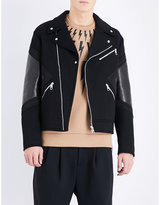 Neil Barrett Modernist Neoprene Biker Jacket