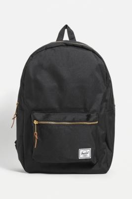 Herschel Settlement Backpack - Black ALL at Urban Outfitters