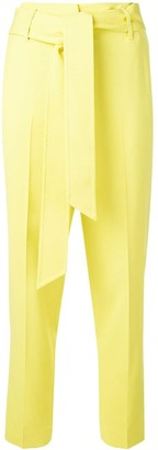 Ermanno Scervino Belted Straight-Leg Trousers