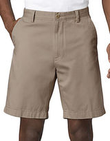 Nautica Flat-Front Cotton Shorts