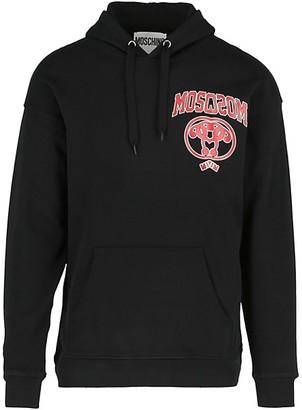 Moschino Mirror Logo Cotton Hoodie