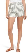 Tularosa Women's Emma Stripe High Waist Shorts
