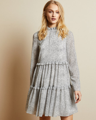 Ted Baker PHENIA Spotted mini dress