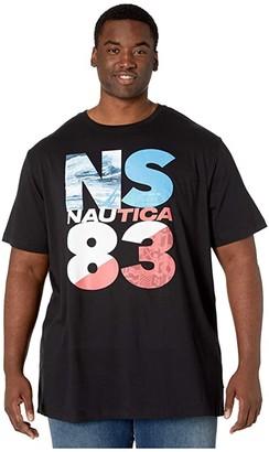 Nautica Big Tall NS83 HD (True Black) Men's T Shirt