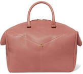 Jerome Dreyfuss Gerald Textured-leather Tote - Pink