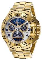 Invicta Men's 'Excursion' Swiss Quartz Stainless Steel Casual Watch, Color:Gold-Toned (Model: 17471)