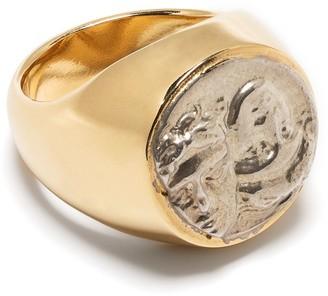 VICTORIA STRIGINI Istros signet ring