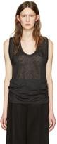 Isabel Marant Black Linen Maik T-Shirt