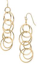 Linear Ring Earrings