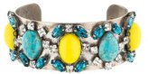 Dannijo Crystal & Resin Cuff Bracelet