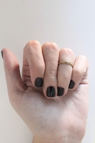 SunaharA Beaded Knuckle Ring in Gold