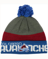 Reebok Colorado Avalanche Pom Knit Hat