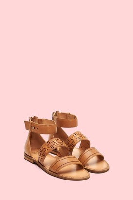 The Frye Company Evie Whipstitch 2 Band Sandal