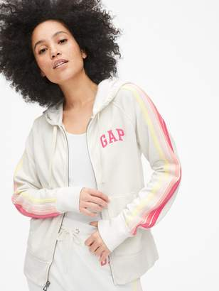 Gap Vintage Soft Logo Side-Stripe Hoodie