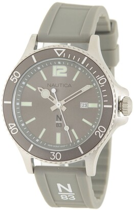 Nautica Men's Value Grey Watch, 52mm