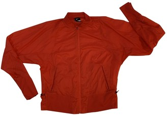 Nike Red Polyester Jackets