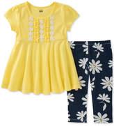 Kids Headquarters 2-Pc. Tunic & Floral-Print Leggings Set, Toddler Girls (2T-5T)