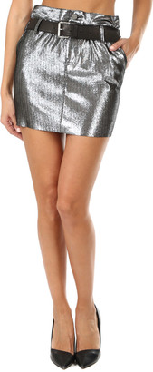 RtA Marlin Leather Skirt