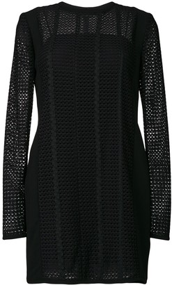 Victoria Victoria Beckham Panelled Shift Dress
