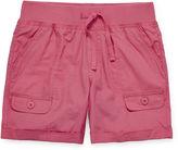 Arizona Mid Thigh Cargo Shorts - Girls 7-16 and Plus