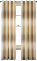 Studio StudioTM Dakota Two-Tone Lined Grommet-Top Curtain Panel