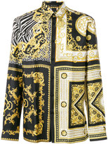 Versace Signature 17 print shirt