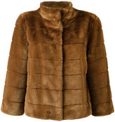 Armani Jeans fur jacket