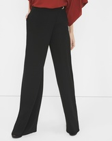 White House Black Market Wrapped Front Wide Leg Pant