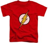Justice League DC Comics Flash Logo Little Boys Tod Tee