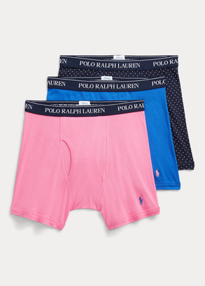 Ralph Lauren Wicking Boxer Brief 3-Pack