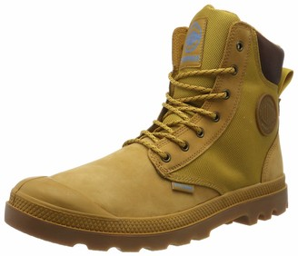 Palladium Unisex Adults Spor Cuf Wpn U Boots Jaune (846 Amber Gold/Mid Gum) 10.5 UK