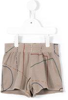 Bobo Choses striped shorts - kids - Cotton/Acrylic/Polyester - 7 yrs