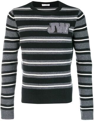 J.W.Anderson Striped Crew Neck Jumper