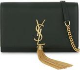 Saint Laurent Monogram kate leather clutch