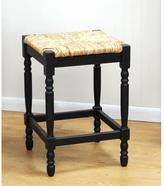 Carolina Cottage 24 in. Hawthorne Counter Bar Stool in Antique Black