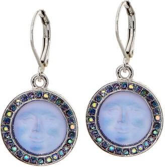 Kirks Folly Seaview Moon Leverback Earrings