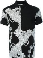 McQ by Alexander McQueen printed polo shirt - men - Cotton - XL