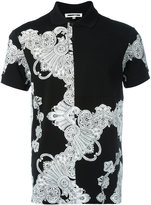 McQ by Alexander McQueen printed polo shirt