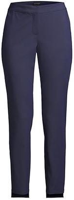 Lafayette 148 New York Manhattan Slim-Fit Step Hem Pants
