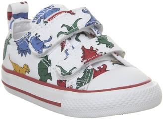 Converse 2vlace Trainers White Dinosaur